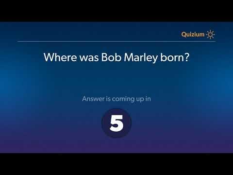 Where was Bob Marley born?   Bob Marley Quiz