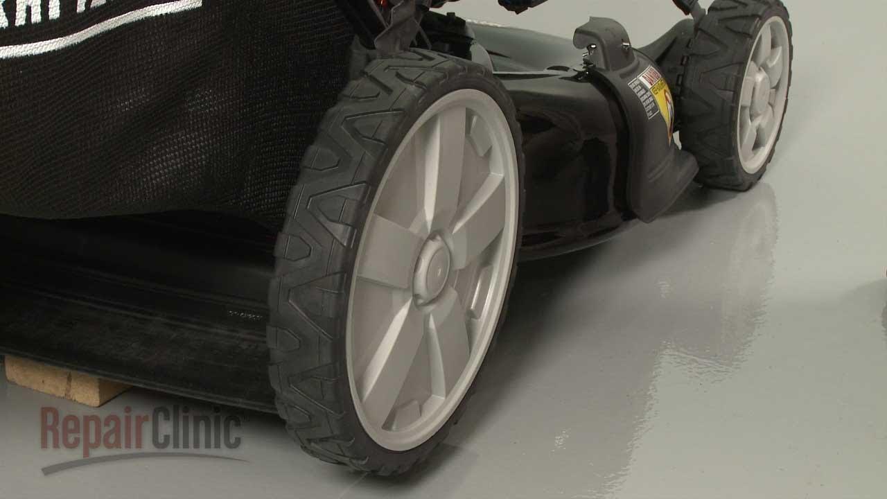 Large Rear Wheel Lawn Mower Mower Rear Wheel Replacement