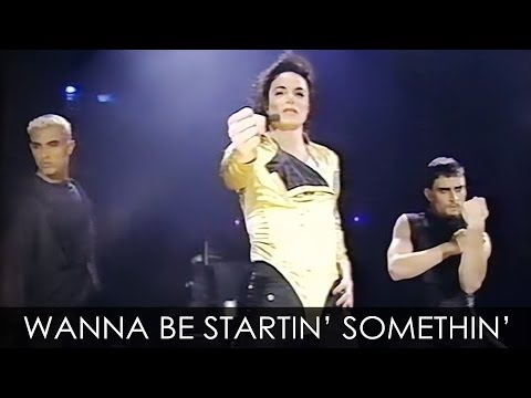 Michael Jackson - wanna Be Startin' Somethin' Live Dangerous Tour Argentina 1993 - Enhanced - Hd video