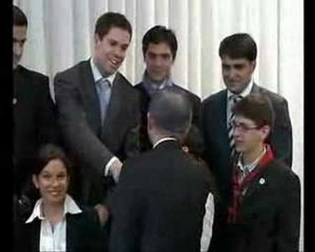 UN Youth Delegates meet Ban Ki-Moon