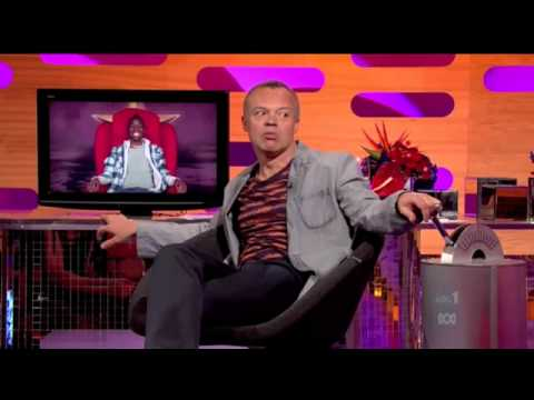Graham Norton's red chair