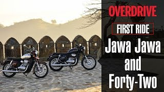 Jawa Jawa and Forty-Two | First Ride Review | OVERDRIVE