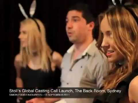 Launch Of Stoli's Global Casting Call‏, The Back Room, Sydney   13 Sept 2011 video