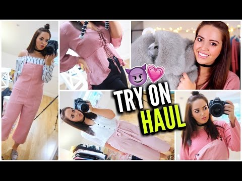 HUGE TRY ON CLOTHING HAUL