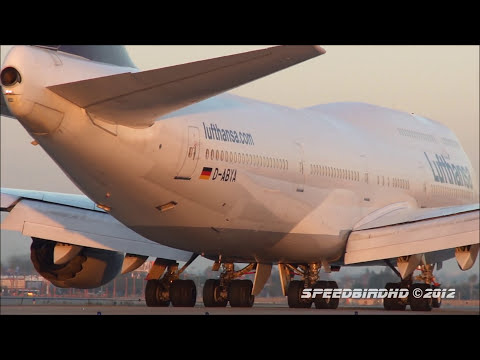 Lufthansa Boeing 747-830 Intercontinental [D-ABYA] Inaugural Flight to LAX