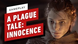 A Plague Tale: Innocence Gameplay - Escaping Killer Rats and Crazy Humans