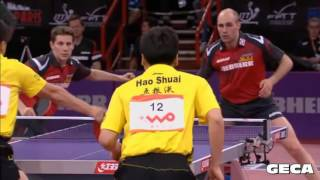 The Power of Behind Back Shot - Table Tennis