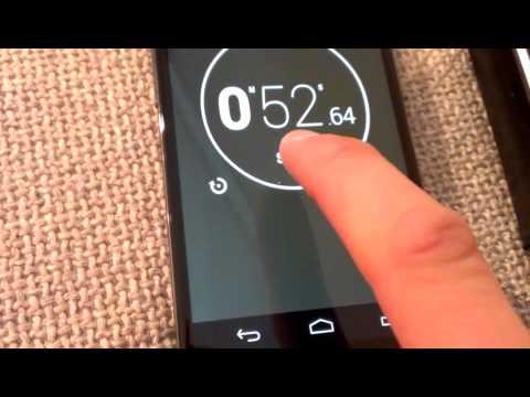 Nexus 4 screen sensitivity