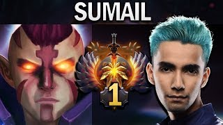 SUMAIL PROVES WHY HE IS TOP 1 MMR WITH ANTI-MAGE - DOTA 2 7.23F GAMEPLAY