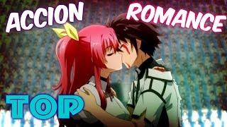 ? TOP 8: Los MEJORES Animes de ACCION y ROMANCE !!.?
