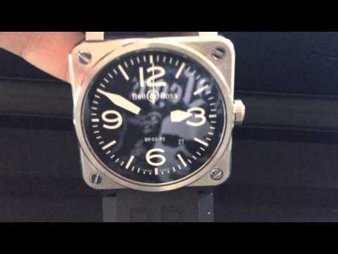 Bell and Ross BR 03 unboxing