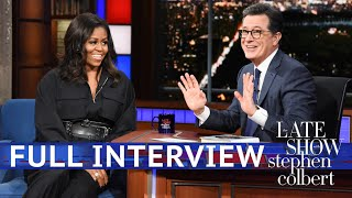 Full Interview: Michelle Obama Talks To Stephen Colbert