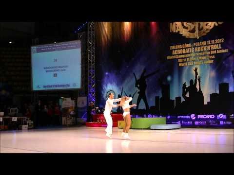 Jade Mandorino & Maurizio Mandorino - World Masters Zielona Gora 2012