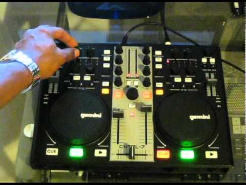 Gemini CNTRL-7 DJ Controller Review & Demo