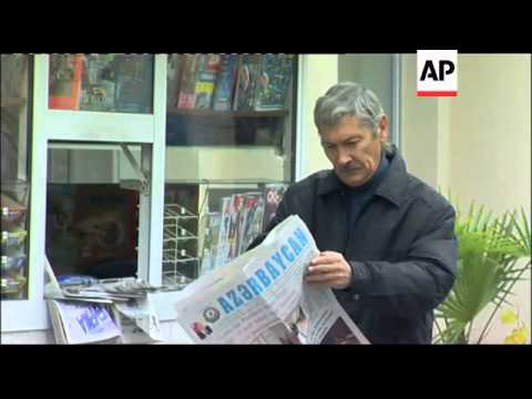 Reaction as Azeri ruling party set to win vote