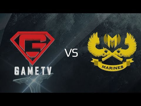 GameTV vs Marines Esports [Vòng 14 - Ván 1][22.10.2017]