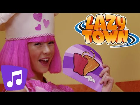 Recipe for Energy | LazyTown Music Video