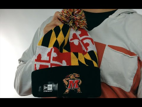 Maryland Flag Knit Beanie