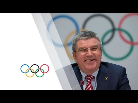 127th IOC Session in Monaco - Press Conference with IOC President Thomas Bach