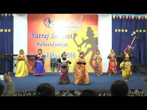 Natraj Sangeet Mahavidyalaya Students Performing kathak