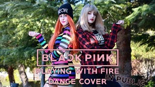 [KPOP IN PUBLIC CHALLENGE SPAIN] 불장난 PLAYING WITH FIRE BLACKPINK Dance Cover by KIH