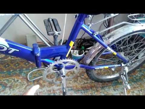 Велосипед из шуруповерта своими руками 98