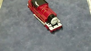 Thomas The Train Trackmaster Arthur - Mattel 2009 - How to change the Battery
