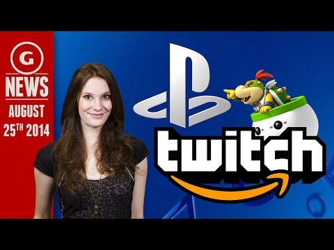 Amazon Buys Twitch For $1 Billion & Smash Bros Roster Leaked! - GS Daily News