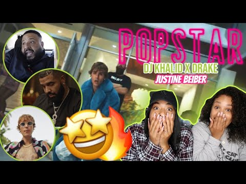 DJ Khaled ft. Drake - POPSTAR (Official Music Video - Starring Justin Bieber) REACTION/REVIEW