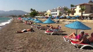 Calis Beach, Fethiye, Turkey - A Fethiye Beach with more Turks than Tourists