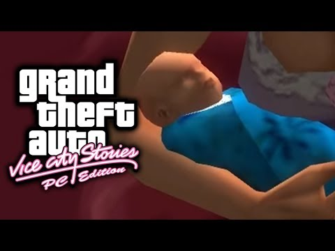 GTA Vice City Stories PC Edition! - THERE'S A REAL BABY IN THIS GRAND THEFT AUTO!