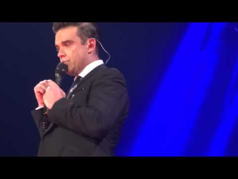 Robbie Williams - My Way  (FRONT ROW) - 22-Sept-14 Brisbane HD