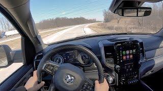 2019 RAM 1500 Limited 5.7L V8 4WD Crew Cab - POV Review