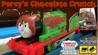 Trackmaster 2 Percy's Chocolate Crunch unboxing review & first run