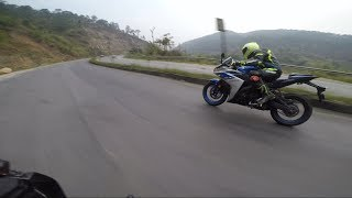 CHASE DOWN!!! BY YAMAHA R3