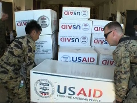 Marines deliver aid to remote Philippines villages hit by typhoon