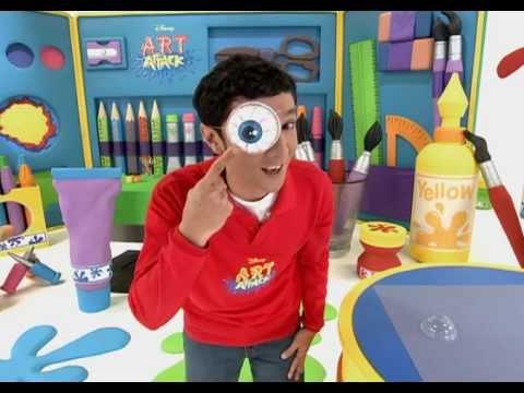 Swollen eye art attack sneak peek disney channel asia - Videos de art attack manualidades ...