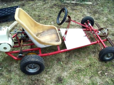homemade go kart / B&S 5HP coldstart
