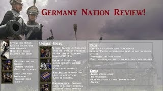 Germany Nation Review! In AoE III