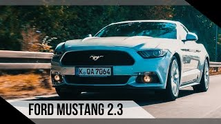 Ford Mustang 2.3 EcoBoost | 2016 | Review | Test | Fahrbericht | MotorWoche