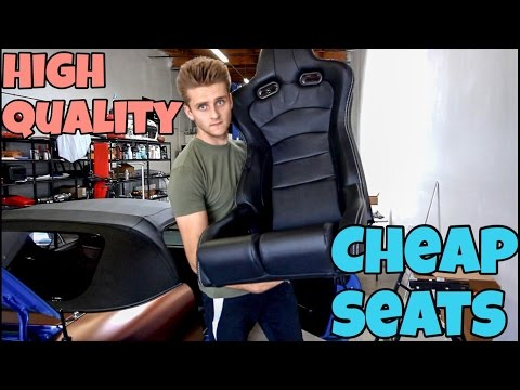 How To Get Super Cheap Racing Seats