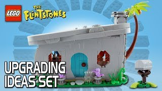 LEGO Ideas - Upgrading The Flintstones set!