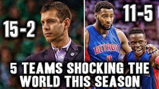 5 NBA Teams Shocking The World This Season | Kyrie Irving Leading The Celtics To The Finals?