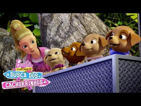 A Barbie e as irmãs em um trailer de aventuras! | Barbie