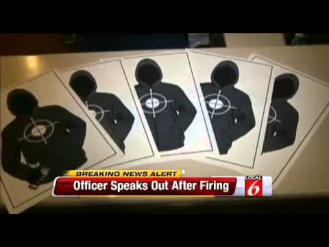Florida Sergeant Fired for Using Trayvon Hoodie Shooting Targets, Defends Himself in YouTube Video