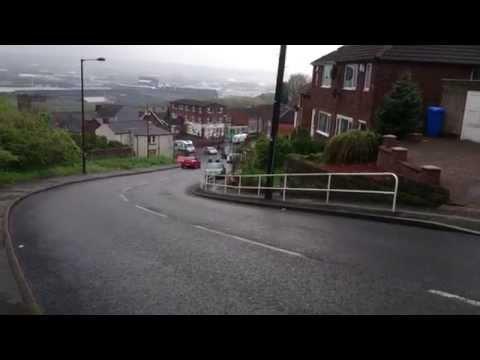 John Degenkolb, Marcel Kittel on Jenkin Road, Sheffield. TDF route recce Stage 2