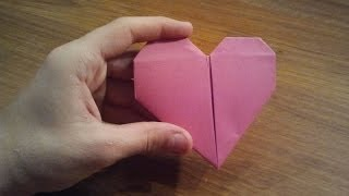 How To Make an Origami Heart - Valentine