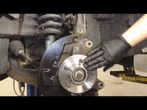 Ford Explorer 4X4 Front Hub & Bearing Repair