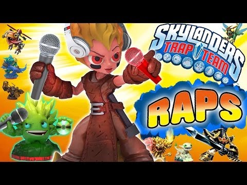 Skylanders Raps - The Trap Team Introduction Music Video Song (First Look)