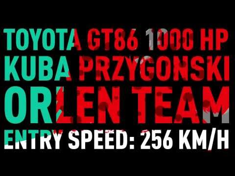 Fastest vehicle drift onboard 256 km/h entry speed (new Guinness World Record) !!!